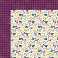 Jillibean Soup - Garden Harvest Collection - 12 x 12 Double-Sided Paper - Harvest The Crop