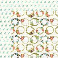 Jillibean Soup - Garden Harvest Collection - 12 x 12 Double-Sided Paper - Gather The Goods