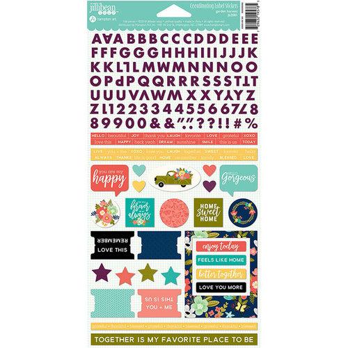 Jillibean Soup - Garden Harvest Collection - Cardstock Stickers