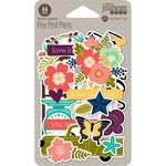 Jillibean Soup - Garden Harvest Collection - Pea Pod Parts - Die Cut Cardstock Pieces
