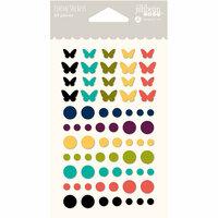 Jillibean Soup - Garden Harvest Collection - Epoxy Stickers