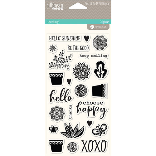 Jillibean Soup - You Make Miso Happy Collection - Clear Acrylic Stamps
