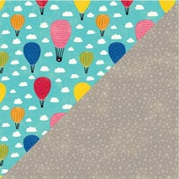 Jillibean Soup - Rainbow Roux Collection - 12 x 12 Double Sided Paper - Drop of Fantasy