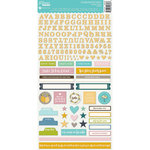 Jillibean Soup - Spoonful of Soul Collection - Cardstock Stickers