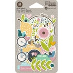 Jillibean Soup - Spoonful of Soul Collection - Pea Pod Parts - Die Cut Cardstock Pieces