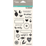 Jillibean Soup - Spoonful of Soul Collection - Clear Acrylic Stamps