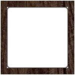 Jillibean Soup - Mix the Media - 12 x 12 Enamel Surface - Rustic Framed