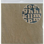 Jillibean Soup - Alphabeans Collection - Kraft Corrugated Alphabet