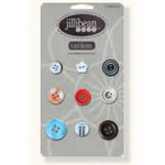 Jillibean Soup - Sweet and Sour Soup Collection - Cool Beans - Typography Buttons