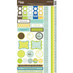 Jillibean Soup - Atomic Soup Collection - Cardstock Stickers