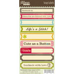 Jillibean Soup - Homemade 6 Bean Soup Collection - Cardstock Stickers - Soup Labels