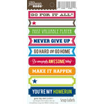 Jillibean Soup - Game Day Chili Collection - Cardstock Stickers - Soup Labels - Game Day Chili