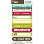 Jillibean Soup - Cardstock Stickers - Soup Labels - Vacation