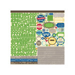 Jillibean Soup - Macho Nacho Soup Collection - 12 x 12 Cardstock Stickers