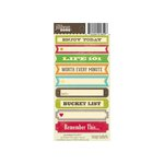 Jillibean Soup - Cardstock Stickers - Soup Labels - Journaling II