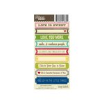 Jillibean Soup - Cardstock Stickers - Soup Labels - Life is Sweet