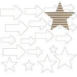 Jillibean Soup - Corrugated Shapes Collection - Arrows