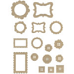 Jillibean Soup - Corrugated Shapes Collection - Frames