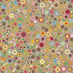 Jillibean Soup - Chilled Strawberry Soup Collection - 12 x 12 Kraft Paper - Vanilla Soy Milk