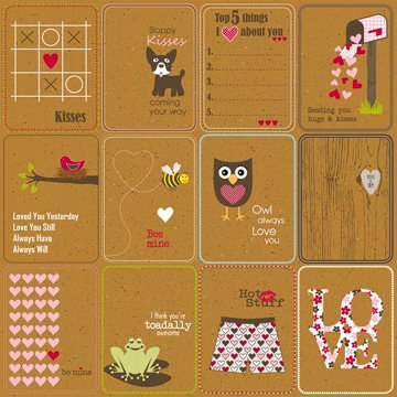 Jillibean Soup - Hearty Barley Collection - 12 x 12 Kraft Paper - Beef Broth