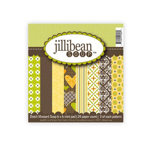 Jillibean Soup - Dutch Mustard Soup Collection - 6 x 6 Paper Pad