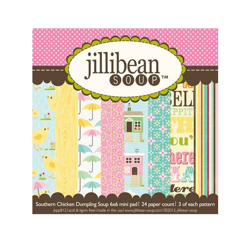 Jillibean Soup - Southern Chicken Dumpling Soup Collection - 6 x 6 Paper Pad