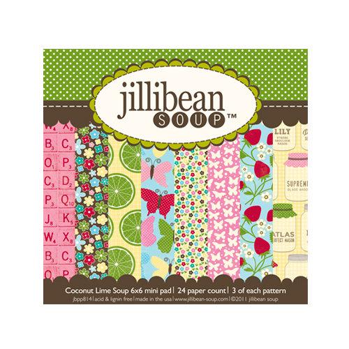 Jillibean Soup - Coconut Lime Soup Collection - 6 x 6 Paper Pad