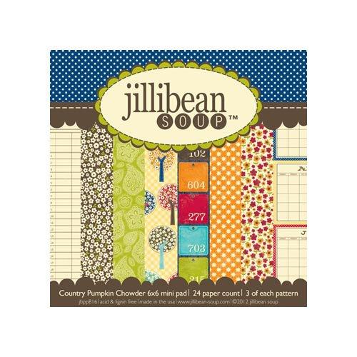 Jillibean Soup - County Pumpkin Chowder Collection - 6 x 6 Paper Pad
