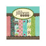 Jillibean Soup - Winter Tortellini and Spinach Soup Collection - 6 x 6 Paper Pad