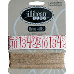 Jillibean Soup - Bean Stalks Collection - Ribbon - Numbers