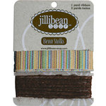 Jillibean Soup - Bean Stalks Collection - Ribbon - Multi-Stripe