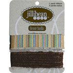 Jillibean Soup - Bean Stalks Collection - Ribbon - Multi-Stripe