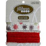 Jillibean Soup - Bean Stalks Collection - Ribbon - Snowflakes