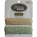 Jillibean Soup - Bean Stalks Collection - Bakers Twine - Mustard and Olive
