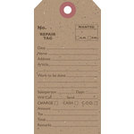 Jillibean Soup - Kraft Collection - Shipping Tags - Repair Tag, CLEARANCE