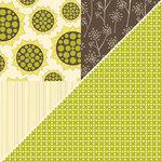 Jillibean Soup - Lentil Soup Collection - 12 x 12 Double Sided Paper - Vegetable Broth