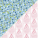 Jillibean Soup - Alphabet Soup Collection - 12 x 12 Double Sided Paper - Alphabet Pasta