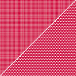 Jillibean Soup - Soup Staples Collection - 12 x 12 Double Sided Paper - Red Sugar, CLEARANCE