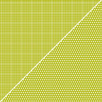 Jillibean Soup - Soup Staples Collection - 12 x 12 Double Sided Paper - Olive Sugar