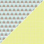 Jillibean Soup - Egg Drop Soup Collection - 12 x 12 Double Sided Paper - Eggs