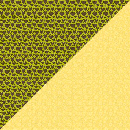 Jillibean Soup - Dutch Mustard Soup Collection - 12 x 12 Double Sided Paper - Creme Fraiche