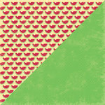 Jillibean Soup - Watermelon Gazpacho Collection - 12 x 12 Double Sided Paper -  Watermelon