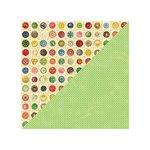 Jillibean Soup - Grandma's Lima Bean Soup Collection - 12 x 12 Double Sided Paper - Vegetable Bouillon