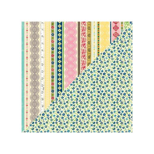 Jillibean Soup - Grandma's Lima Bean Soup Collection - 12 x 12 Double Sided Paper - Small Onion
