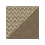 Jillibean Soup - Soup Staples II Collection - 12 x 12 Double Sided Paper - Brown Salt