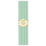 Jillibean Soup - Party Playground Collection - Paper Straws - Rock Candy Blue Herringbone