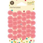 Jillibean Soup - Party Playground Collection - Pom Pom Garland - Cotton Candy Pink