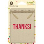 Jillibean Soup - Party Playground Collection - Muslin Treat Bags - Thanks