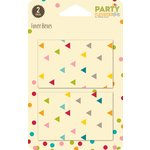 Jillibean Soup - Party Playground Collection - Favor Boxes - Multi Triangle