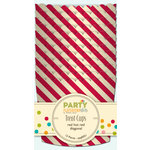 Jillibean Soup - Party Playground Collection - Treat Cups - Red Hot Red Diagonal